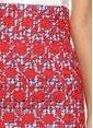 Stella Jean Kalem Etek Kırmızı